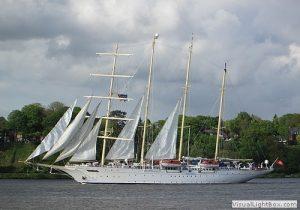 Segel-Kreuzfahrtschiff Star-Flyer