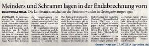 General-Anzeiger 17.07.2014 (ga-online.de)