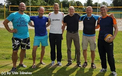3. Platz: Karge/Schramm, 2. Platz : Meinders/Stührenberg und 1. Platz: Nowara/Prütz