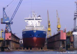 Schiffsdock der Norderwerft