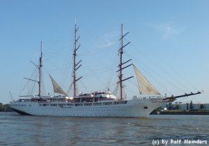 Segel-Kreuzfahrtschiff Sea Cloud II