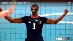 Top 25 Volleyball Actions