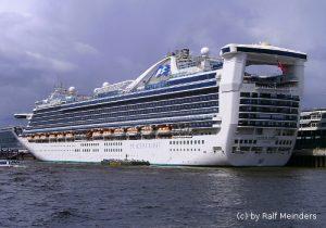 Kreuzfahrtschiff Caribbean Princess (289m)