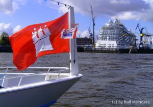 Hamburg-Flagge