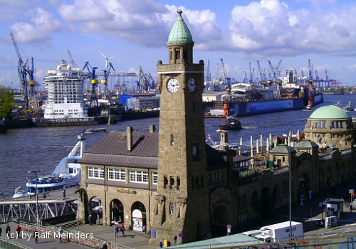Webcam Hamburg Landungsbrücken