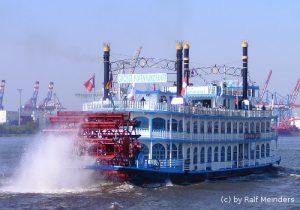 Ausflugsschiff Louisana Star (56m x 12m)