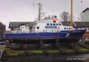 Polizeiboot Bürgermeister Weichmann (29,5m)