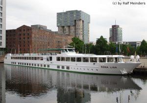 Flusskreuzfahrtschiff Mona Lisa (82m x 10m)