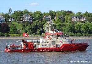 Löschboot Branddirektor Westphal (45m x 11m)