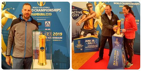 Rechts: Kira Walkenhorst - Weltmeisterin 2017