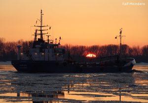 Tankschiff Sirius (58m)