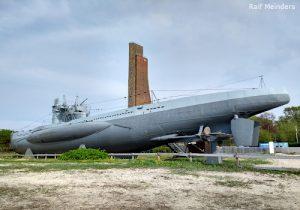 U-995 (67,2 Meter) in Laboe. Baujahr 1943