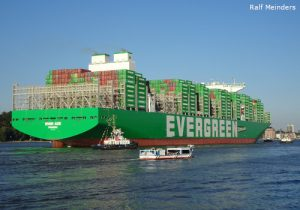 Ever Ace - Stand 09/2021 größtes Containerschiff